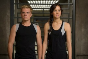Josh Hutcherson and Jennifer Lawrence in The Hunger Games Catching Fire, a review
