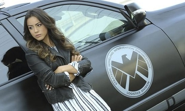 Chloe Bennet as Skye in Agents of SHIELD