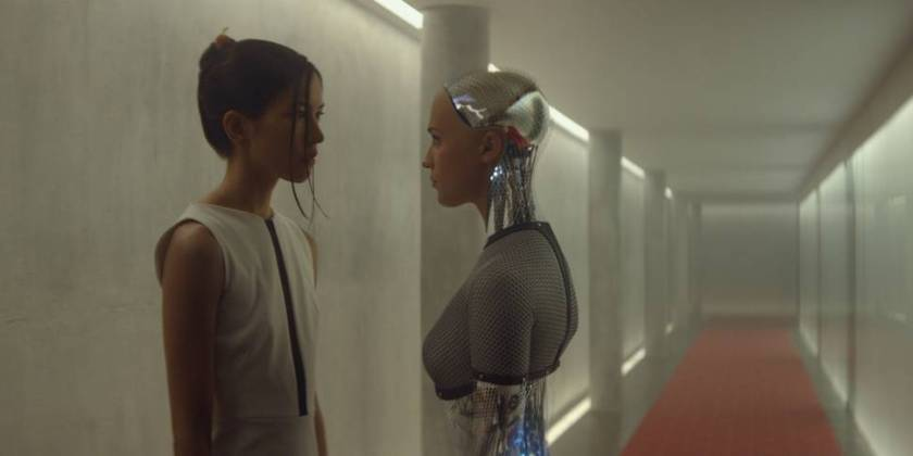 Alicia Vikander i Ex Machina
