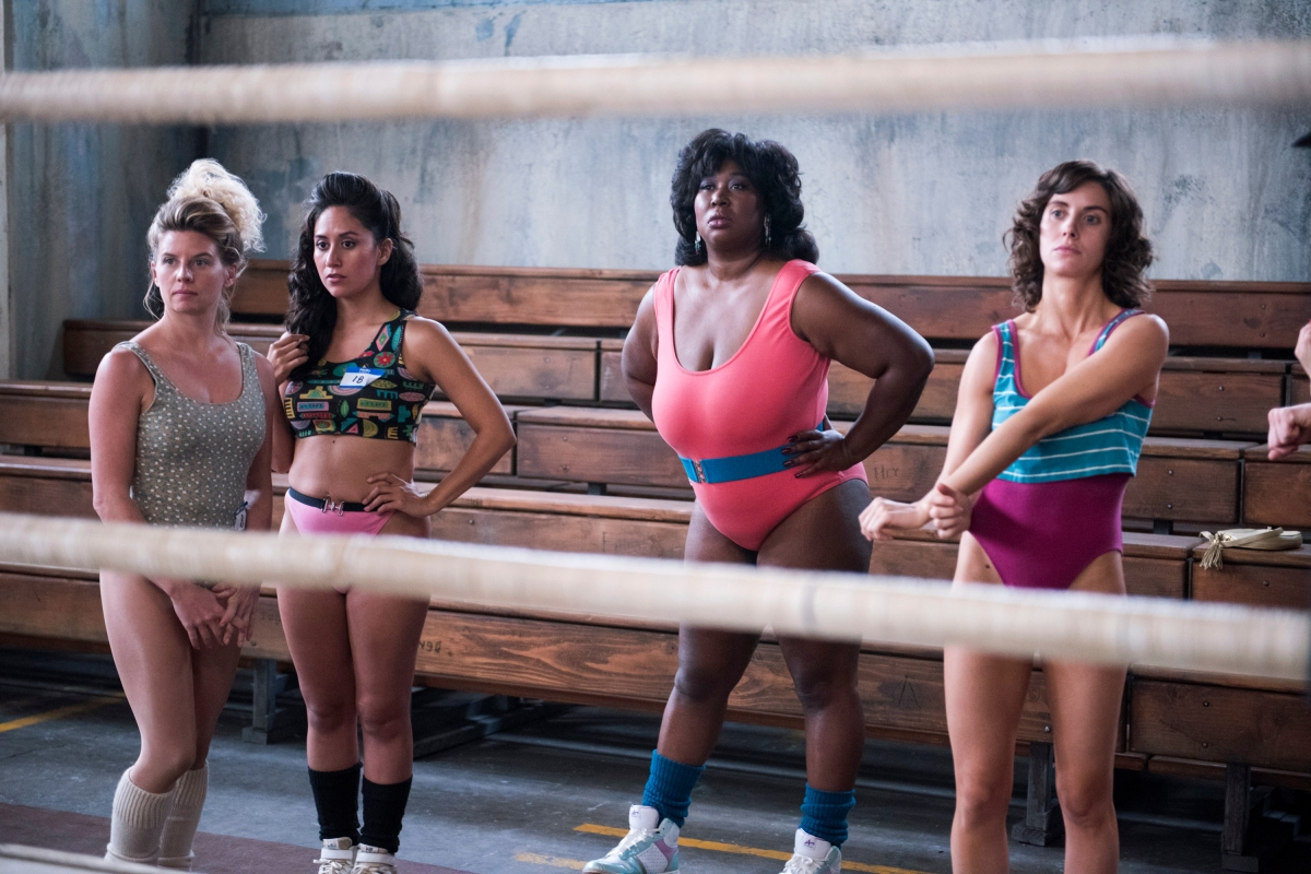 Glow: ladies, wrestling and Alison Brie